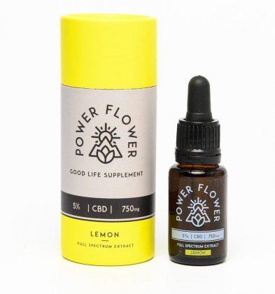 750mg lemon CBD oil